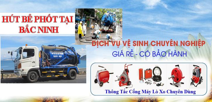 Dịch vụ hút bể phốt tại Bắc Ninh siêu rẻ