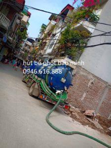 dịch vụ hút bể phốt tại Ninh Hiệp giá rẻ